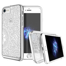 "Prodigee Show White Lace iPhone 7 4.7"" Clear Transparent Case Thin Slim Cover"