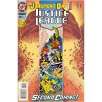 Justice League (1987 series) #89 in Near Mint minus condition. DC comics [*cx]