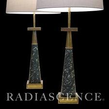 STIFFEL ATOMIC MODERN  BRASS TOMMI PARZINGER TABLE LAMPS JACKSON POLLOCK 1950'S