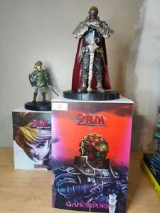 Lot figurine Ganondorf + Link twilight princess RARE