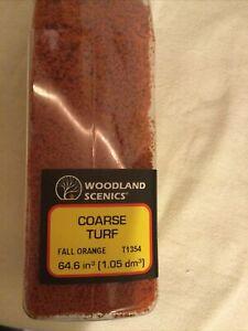 Woodland Scenics T1354- Coarse Turf - Fall Orange (Large Shaker)