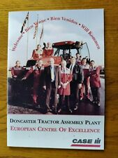 CASE IH TRACTORS DONCASTER TRACTOR ASSEMBLY PLANT COLOUR WELCOME BROCHURE USED