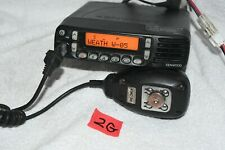 Kenwood Tk 7180h K Vhf Fm Console Radio With Kmc 36 Mic May Have Password 2g W4