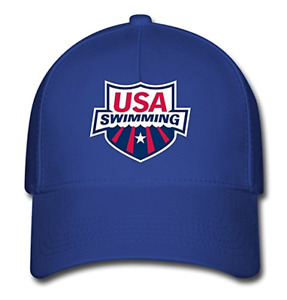 Unisex USA Swimming Team 2017 Rio Summer Olympic Baseball Caps Hat One Size