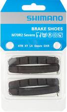Shimano M70R2 Bremsbelag / Bremsgummi für V-Brake Felgenbremsen, 2 Paar NEU