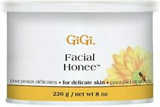 GiGi FACIAL HONEE WAX 8 oz (226 g) Delicate Skin Hair Removal Professional Use