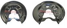 REAR BRAKE DISC SPLASH GUARDS FOR AUDI A3 SKODA OCTAVIA SUPERB GOLF MK5