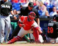 "Carlos Ruiz Philadelphia Phillies MLB Action Photo (Size: 8"" x 10"")"
