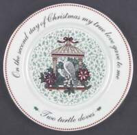 Domestications TWELVE DAYS OF CHRISTMAS Salad Plate (2nd Day) 5862934
