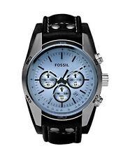 Schwarze Fossil Armbanduhren für Damen