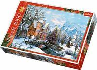 "Trefl 1000 Piece Jigsaw Puzzle - ""Winter Landscape"" - Brand New and Sealed"
