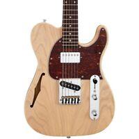 G&L Tribute ASAT Classic Bluesboy Semi-Hollow Electric Guitar Blonde Rosewood