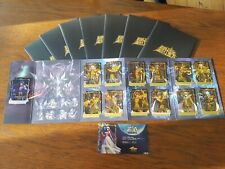 Cartes Saint Seiya 30TH ANNIVERSARY Pékin/Beijing Exhibition CARDS FULL SET RARE
