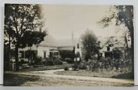 RPPC Lovely Home And Garden House Residence Real Photo c1910 Postcard L17