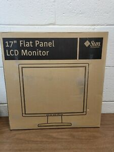 "New Old Stock - Sun 17"" Flat Panel LCD Monitor X7204A - 1280x1024@75 VGA and DVI"