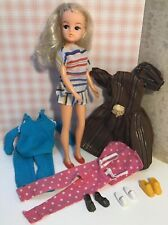 Vintage 1980s Pedigree Sindy Doll Casuals Cherry Pop Keeping Fit shoes trainers