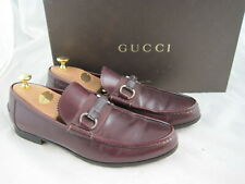 Gucci Herrenloafer in 41 / UK 7,5 / Neuwertig / Bordeaux / NP 595 €
