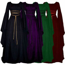 Womens Renaissance Medieval Victorian Dress Ladies Halloween Gothic Costume Gown