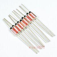 10 Pcs NEC SEFUSE Cutoffs SF214E 216 °C 10A 250V Thermal Fuse Microtemp NEW A103