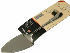 Grunwerg Windsor Stainless Steel Cake Slicer and Pie Server with Serrated Edge