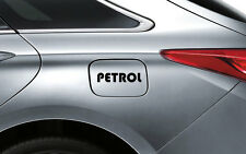 Black Petrol P1 Decal Sticker Fuel Lid Toyota Etios Liva Corolla Innova Fortuner