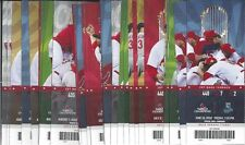 2012 ST. LOUIS CARDINALS BASEBALL FULL UNUSED TICKETS HUGE LOT OF 136