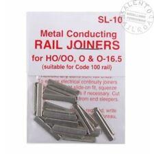 Peco Sl-10 Articulations Metal pour Rails Code 100 (12 Pièces)