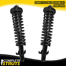 90-93 Honda Accord Front Quick Complete Strut & Coil Spring Assemblies w/ Mounts