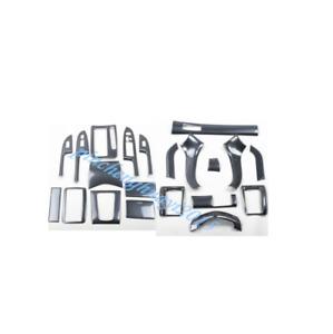 21PCS Carbon Fiber Car Interior Kit Cover Trim For Honda Accord 2003-2007