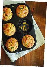 NEW Seasoned Cast Iron Cookware Muffin Cornbread Pan FREE SHIPPING