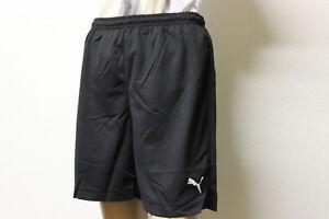 Schwarze Kinder Fußballhose Sporthose von Puma in der Gr 116 - 176 Vencide Short