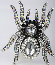 Spider stretch ring halloween party jewelry gifts Decor for women 1Q