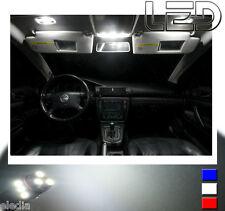 GOLF 4 IV 9 bombillas LED Blanco iluminación Luz techo Maletero Anti sol espejos