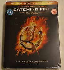 """The Hunger Games - Catching Fire"" Blu-ray Steelbook neu&ovp"