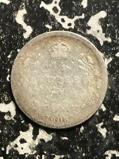 1908 India 1/4 Rupee Lot#L2195 Silver! Low Grade