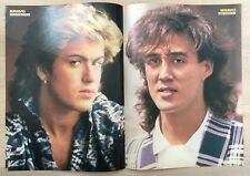 BRAVO POSTER Wham - George Michael - 80er Jahre !!!