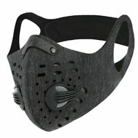 Sports Face Masks  - Reusable with Breathable Double Filter & Neck Strap