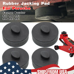 4 X Jack Rubber Pad Jacking Adapter For Porsche Cayman Boxster 911 993 997 991