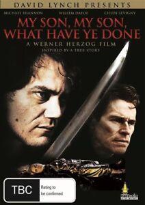 MY SON MY SON WHAT HAVE YOU DONE DVD Werner Herzog - David Lynch - BRAND NEW