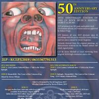 KING CRIMSON In The Court Of The Crimson King 50th Anniversary Edition  2 x lp