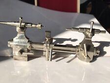 Tour d'horloger pour tournage entre-pointes. Watchmakers Lathe