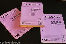 Citroën C8 Werkstatthandbuch Karosserie Aufbau Kraftübertragung 2002 Citroen