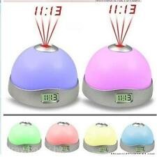 7 Colour Changing Magic Starry Projection Light With Alarm Clock Christmas Decor