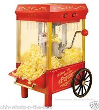 Old Fashion Popcorn Maker Electric Nostalgic Machine Vintage Carnival Kettle Cor