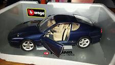 BURAGO 1:18 FERRARI 456 GT (1992)/vetrina modello/OVP/Top-stato