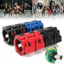 2Pcs Barbell Gym Weight Bar Dumbbell Lock Clamp Spring Collar Clips 25mm/50mm