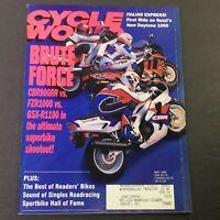 Cycle World Magazine May 1992 - Superbike CBR900RR vs FZR1000 vs GSX-R1100