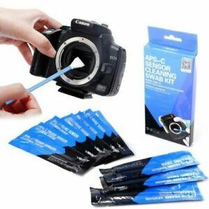 VSGO 10pcs Capteur Nettoyage Swab Kit DDR-15 Pour Aps-C Appareil Photo DSLR