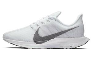 NIKE ZOOM PEGASUS 35 TURBO Running Trainers Gym Shoes  UK Size 10 (EUR 45) White