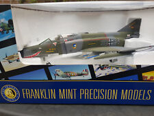 "Franklin Mint Armour F-4 Phantom JG 74 ""Mölders"" 38+64 Luftwaffe 1:48 aus Metall"